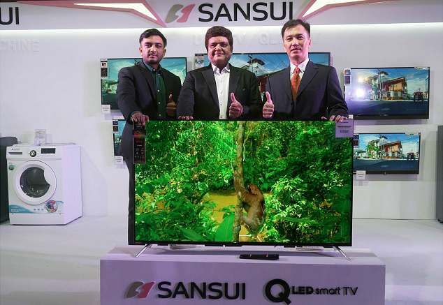 Sansui ties-up withJaina Group to launch itsConsumer Durables and Electronics 1