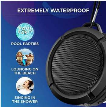 BRIX Launches Waterproof Portable Bluetooth Speakers on Amazon 3