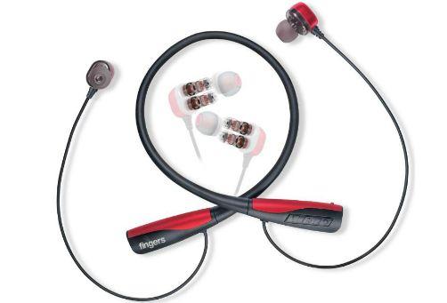 FINGERS Chic Dual.D Wireless Neckband earphone