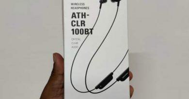 Audio-Technica bluetooth earphone ATH-CLR100BT