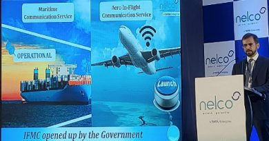 Nelco ties-up with Panasonic Avionics to launch Aero In-Flight Communication (IFC) services in India 1