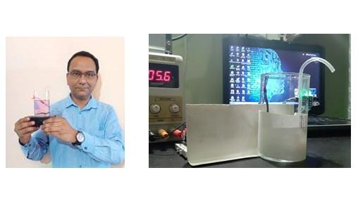 Timex India employee builds an in-house disinfectant chamber and automatic hand sanitizer dispenser 1
