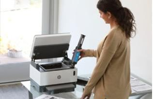 HP Neverstop Laser printers now come with free easy-to-use HP Toner Reload Kit 2