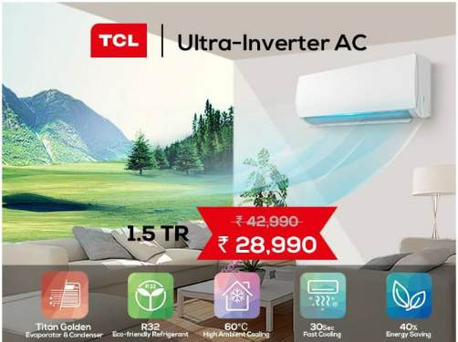 TCL 1.5 TR Ultra-Inverter smart AC