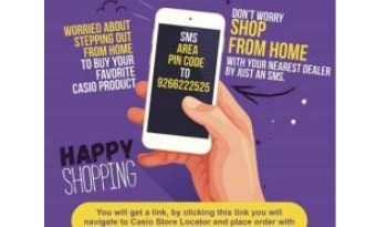 Casio India introduces doorstep delivery of its products 3