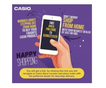 Casio India introduces doorstep delivery of its products 1
