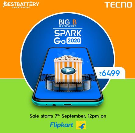 TECNO launches its new smartphone SPARK Go 2020 4