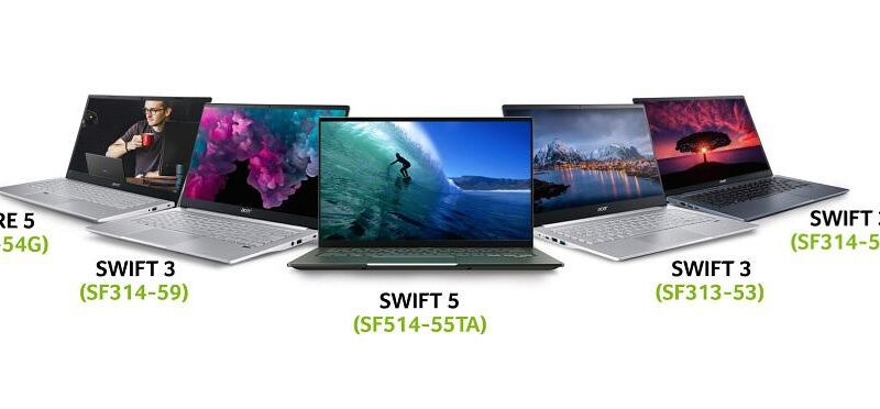 Acer launches five new laptops with 11th Gen Intel Core Processor in India 1