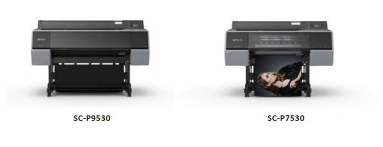 Epson SureColor P7530 and P9530 Photo Printers