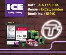 Transcend to Display Advanced Industrial Solutions at Embedded World 2014 1