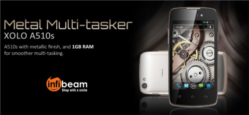 Infibeam Showcases The Latest Model Of XOLO A510s 3