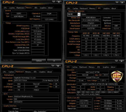 HyperX sets overclocking world record mark at 4500MHz 9