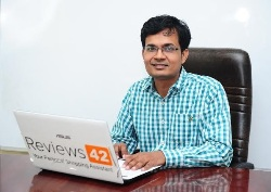 Neeraj Jain, Co-founder, Reviews42