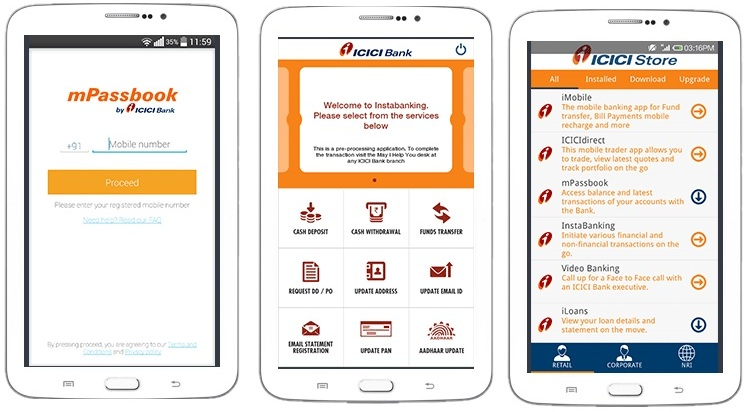 ICICI Bank launches four new next generation mobile banking apps 4