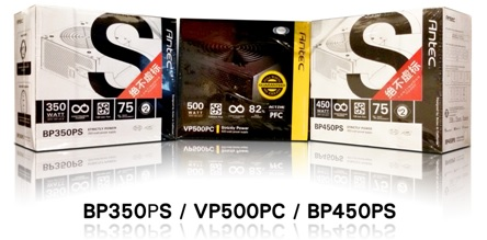 Antec extends its popular BP and VP series with 3 new entrants BP350PS, BP450PS and VP500PC in India 4