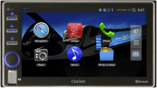 Clarion launches Android-Based Connected Car Stereo 2