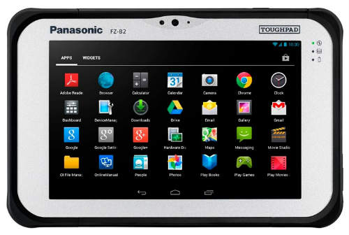 Panasonic launches its Android Tablet FZ-B2 1