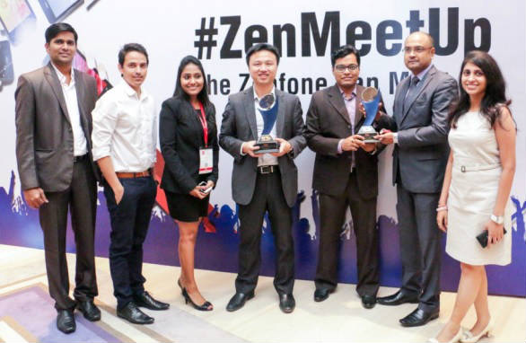 ASUS Zenfone 5 awarded as the Budget Smart Phone Of The Year – 2014 at Exhibit Tech Awards 2014 2