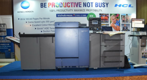 Konica Minolta launches bizhub PRESS C1100 and bizhub PRESS C1085 3
