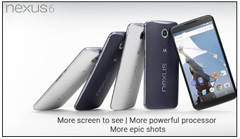 Nexus 6 from Google and Motorola available for pre-order on Flipkart 2