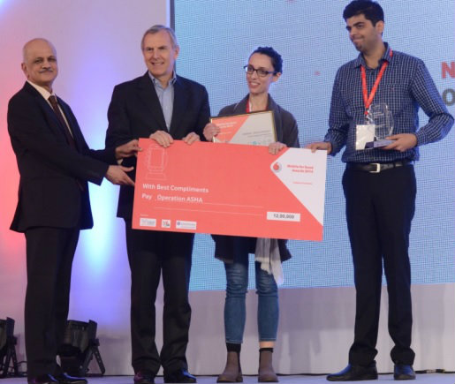 Vodafone Foundation announces winners of 'Mobile for Good' awards 2014 1