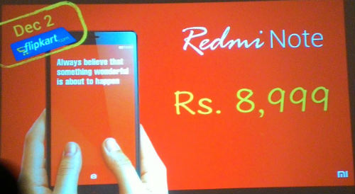 Mi India launches a dual SIM 3G variant of Redmi Note for Rs. 8,999 2