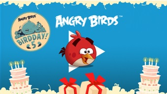 Angry Birds is turning 5 on December 11th  2