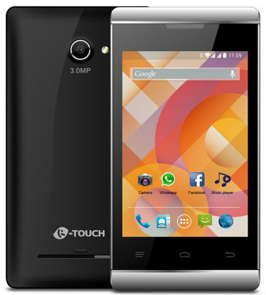 K Touch launches A20 3G Smartphone @ Rs 2,999 8