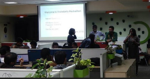 Creativity reigns at Knowlarity Hackathon in Bangalore 1