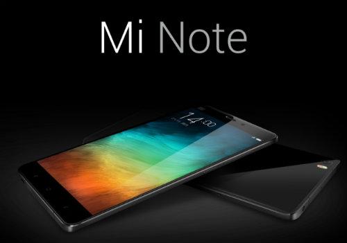 Xiaomi unveils 5.7-inch Mi Note  1