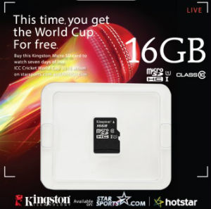 Kingston launches Limited Edition microSD cards for cricket fans 2
