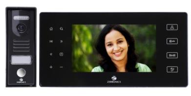"""Zebronics launches 7"""" Video Door Phone ZEB –VD7RT 2"""