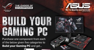 ASUS Announces Build Your Gaming PC Summer Program 2