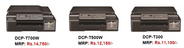Brother launches 3-in-1 inkjet Multi-Function Centres (DCP-T300, DCP-T500W, DCP-T700W) 3