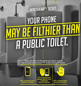 Sony India rolls out its microsite 'dirtyphones.org' to create awareness about mobile hygiene 4