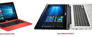 ASUS launches Asus Eeebook E402 and Asus Eeebook E205SA in India 1