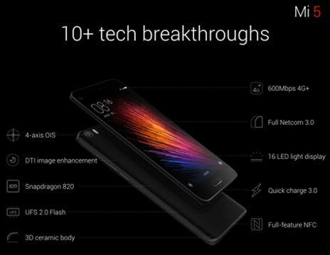 Xiaomi launches its new flagship smartphone Mi 5 1