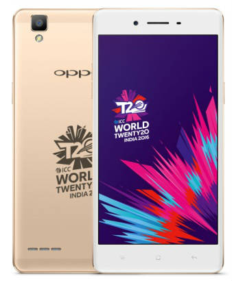 OPPO launches OPPO Selfie Expert F1 ICC WT20 limited edition 4