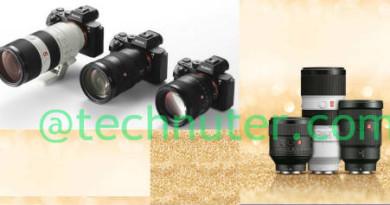 SONY-G-Master-brand-interchangeable-lenses