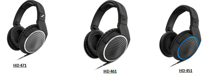 Sennheise rolls out its HD 400 series headphones- HD 451, HD 461 and HD 471 1