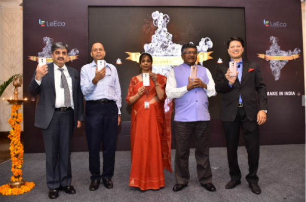 LeEco announces its Make in India initiative with smartphone manufacturing facility in Greater Noida, India 3