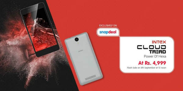 Intex announces Second Flash Sale for Intex Cloud Tread on September 8th, 2016 at 12:00 PM 3