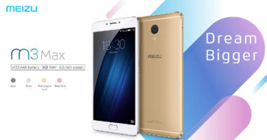 Meizu launched its new smartphone M3 Max 2