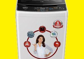 Intex launches its new fully-automatic washing machine WMFT75BK 3