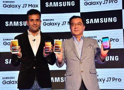 Samsung Launches Galaxy J7 Max, Galaxy J7 Pro with Samsung Pay and Social Camera 2