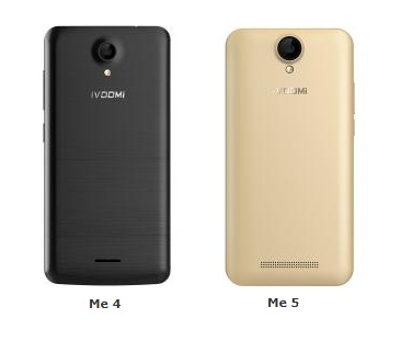 iVOOMi launches two new smartphones 'Me 4 & Me 5' 6