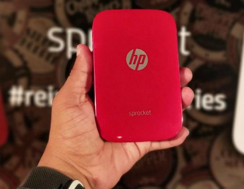 HP rolls out its pocket-sized photo printer 'HP Sprocket' 5