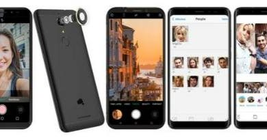 Micromax launches its new bezel-less smartphone 'Canvas Infinity Pro' with dual front cameras 1
