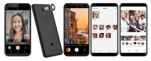 Micromax launches its new bezel-less smartphone 'Canvas Infinity Pro' with dual front cameras 3