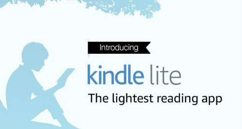 Amazon Launches Kindle Lite – Free 2MB Reading App for Android in India 1